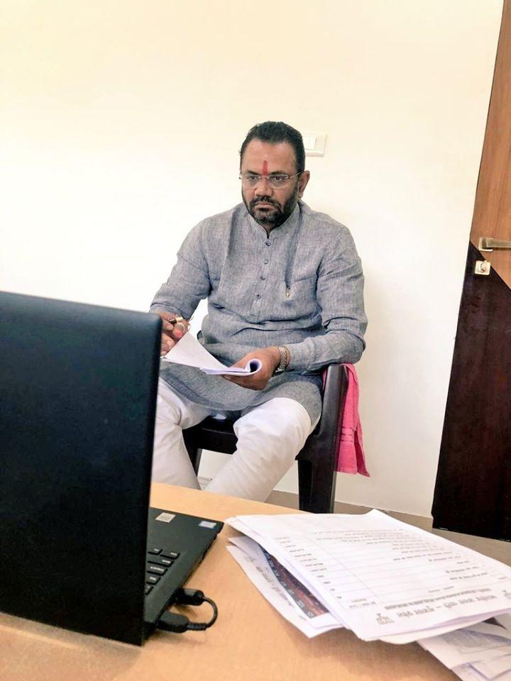 ભાજપા રાષ્ટ્રીય અધ્યક્ષ શ્રી જે.પી.નડડાજીનો વિડીયો કોન્ફરન્સ દ્વારા પ્રદેશ હોદેદારશ્રીઓ તથા ગુજરાત ભાજપાના લોકસભા-રાજ્યસભાના સાંસદશ્રીઓ સાથે સંવાદ