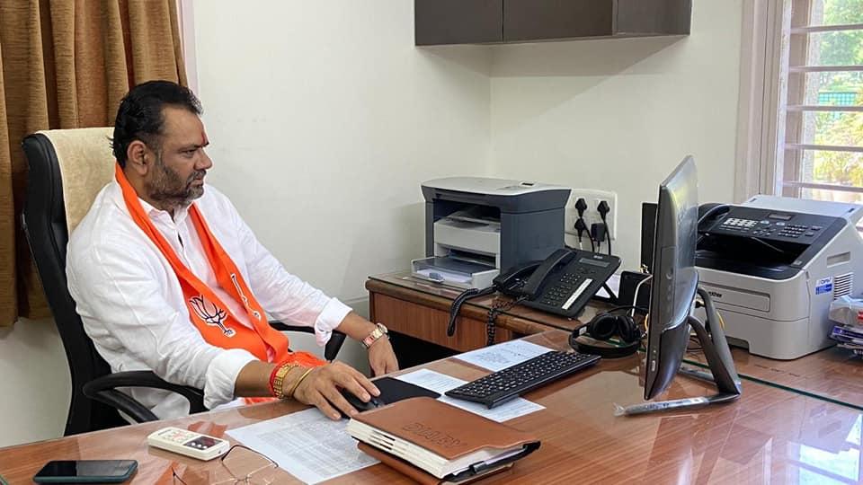 ભાજપાના રાષ્ટ્રીય અધ્યક્ષ માન. શ્રી જે.પી.નડ્ડાજીનો વિડીયો કોન્ફરન્સના માધ્યમથી ગુજરાત ભાજપા પાર્ટીના સંગઠનાત્મક કાર્યક્રમો પર માર્ગદર્શન કાર્યક્રમ