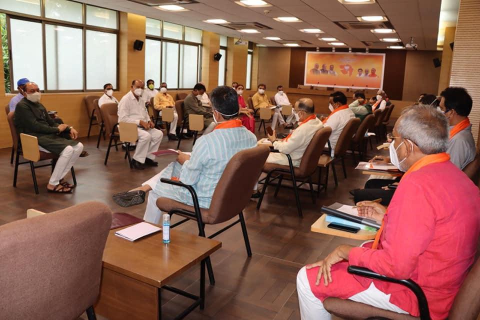 ગુજરાત પ્રદેશ ભારતીય જનતા પાર્ટીની સંસદીય સમિતિની બેઠક - દિવસ ૨