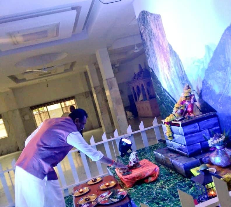 વિઘ્નહર્તા શ્રી ગણેશજી તેમજ મહાદેવ સમક્ષ ભાવવંદના