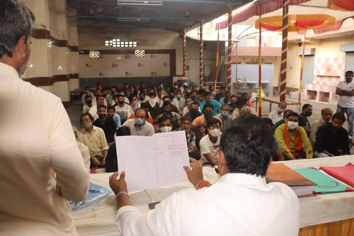 સ્થાનિક સ્વરાજ્યની ચૂંટણી - 2021 અંતર્ગત ભાવનગર પશ્ચિમ વિધાનસભામાં વ્યવસ્થાલક્ષી માર્ગદર્શન